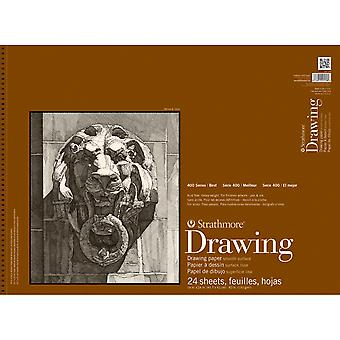 Strathmore Smooth Drawing Spiral Paper Pad 18