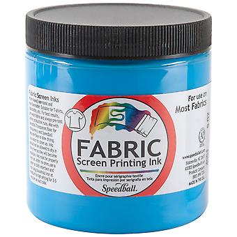 Fabric Screen Printing Ink 8 Ounces Peacock Blue Fspi8 4551