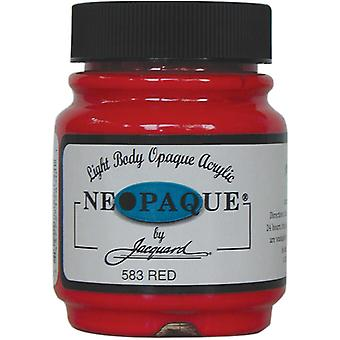 Neopaque acryl verf 2,25 Ounces rode Neopaque 583