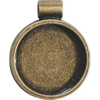 Lisa Pavelka Bezel 1 Pkg Antique Gold Round Lp2727 4