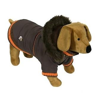 Doggy Things Dandy Parka Chocolate (Dogs , Dog Clothes , Coats and capes)