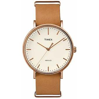 Timex Unisex Weekender Fairfield Cream Dial TW2P91200 Watch