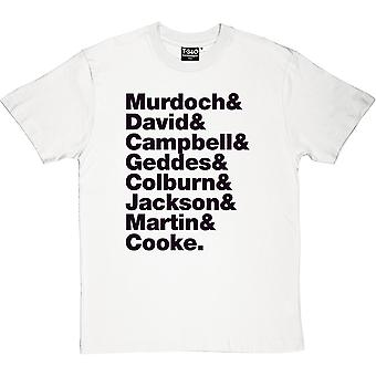 Belle & Sebastian Line-Up Men's T-Shirt