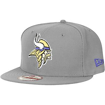 Storm grey new era 9Fifty Snapback Cap - Minnesota Vikings