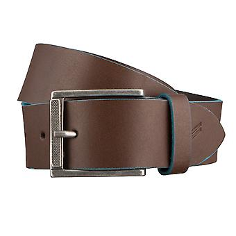 DANIEL HECHTER belts men's belts leather belt Brown 3077