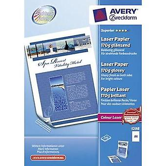 Laser printer paper Avery-Zweckform Superior Laser Papier glänzend 1298 DIN A4 170 gm² 200 Sheet White