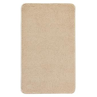 Smooth Badematte Uni Beige  60x100 cm | 102376