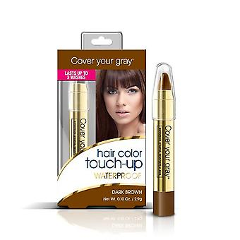 Cover Your Gray Waterproof Chubby Pencil Dark Brown