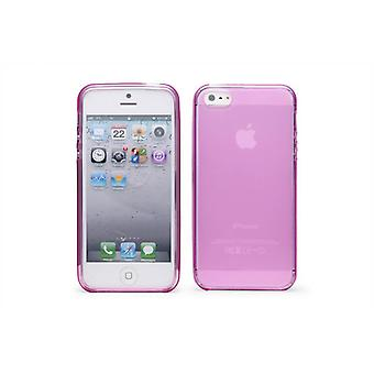 Crystal Gel Case Cover For Apple iPhone 5 5S SE - Pink