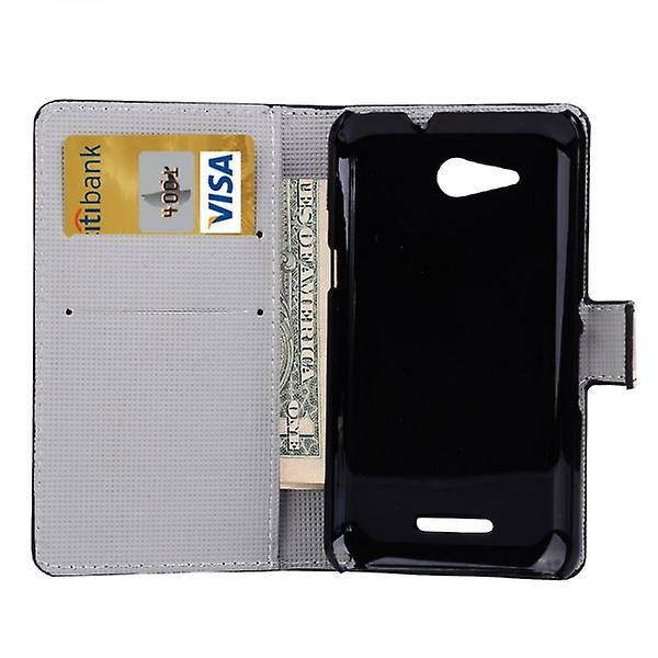 Pocket wallet premium model 4 for Sony Xperia E4G