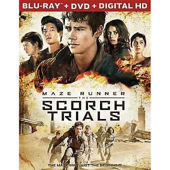 Maze Runner: The Scorch Trials [Blu-ray] USA import