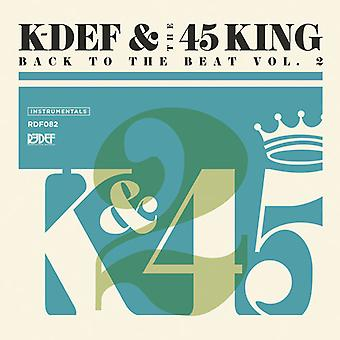 K-Def & the 45 King - Back to the Beat 2 [Vinyl] USA import