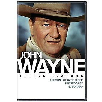 John Wayne Triple funktion [DVD] USA importerer