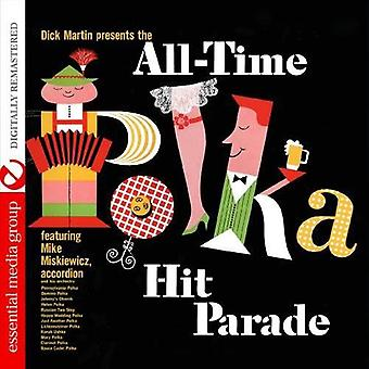 Mike Miskiewicz & Orchester - Dick Martin präsentiert der all-time-Polka Hit Parade [CD]-USA import