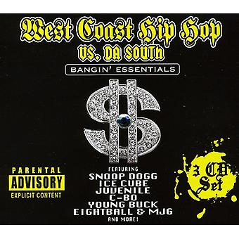 West Coast Hip Hop vs Da sud - importazione USA West Coast Hip Hop vs Da sud [CD]