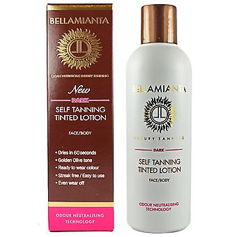 Bellamianta Self Tanning Tinted Lotion Dark