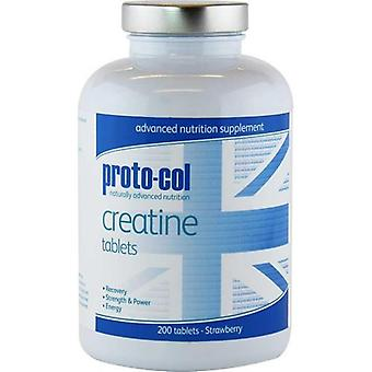 Proto-Col Proto-col Creatine Tablets Strawberry (200 Tabs)