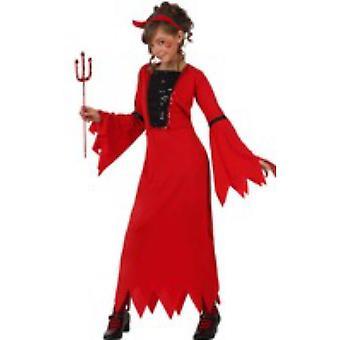 Costumi bambini Demonia Devil dress costume per ragazze