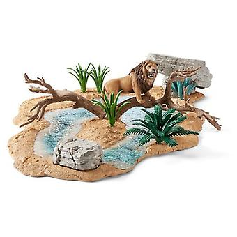 Schleich Abrevadero (Toys , Dolls And Accesories , Miniature Toys , Stages)