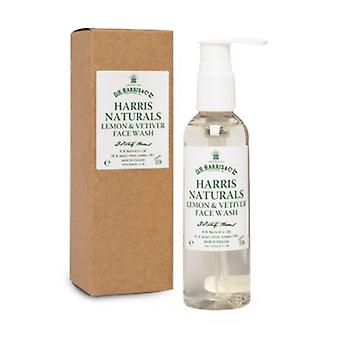 D R Harris Naturals limón y Vetiver Face Wash 100ml