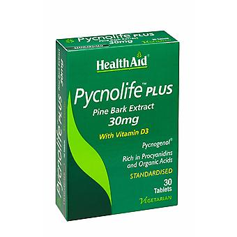 Health Aid Pycnolife Plus - Blister 30's Tablets