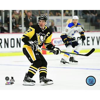 Sidney Crosby 2017-18 acción foto impresión