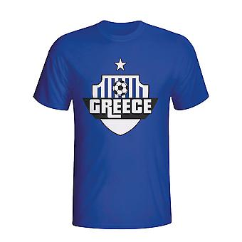 Greece Country Logo T-shirt (blue) - Kids