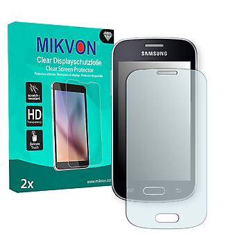 Samsung S7390 Galaxy Trend Lite Screen Protector - Mikvon Clear (Retail Package with accessories)