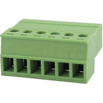 Pin enclosure - cable Total number of pins 6 Degson 15EDGKR-3.81-06P-14-00AH Contact spacing: 3.81 mm 1 pc(s)