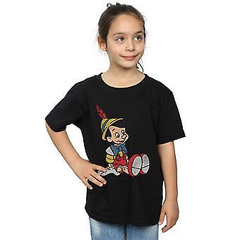 Disney meninas Pinóquio clássico Pinocchio t-shirt