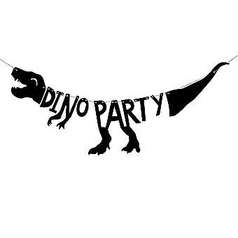 Dino Party Banner – Dinosaur Party Bunting 90cm Decoration