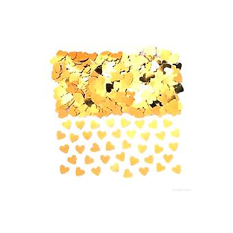 Confetti Gold Hearts - Massive Bags. Buy 1 get 1 Free (2 x bag 84g)
