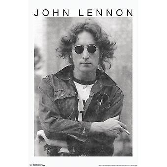 جون لينون--طباعة ملصق الدخان