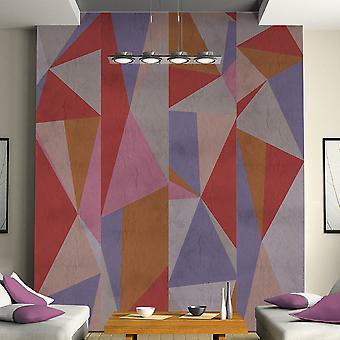 Behang - driehoeken!