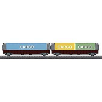 メルクリンの世界 44109 H0 2 pc セット コンテナー貨車