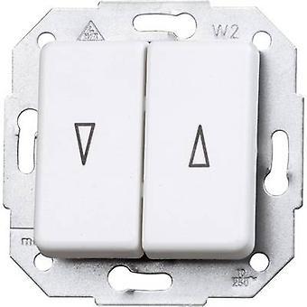 Kopp Insert Shutter switch Europa Arctic white, Matt 614513080