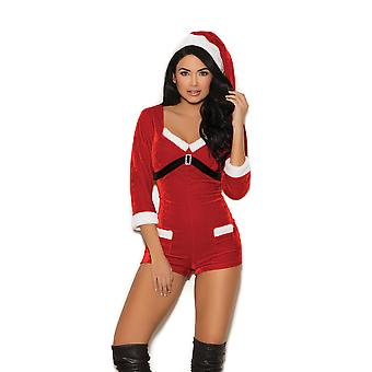Elegant Moments barboteuse velours Womens vacances Cutie Festive Teddy Lingerie