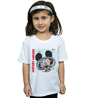 Disney Girls Mickey Mouse Under Water T-Shirt