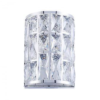 Maytoni illuminazione applique moderno gelido, Chrome