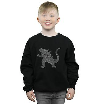 Drewbacca Boys Kaiju Headlines Sweatshirt