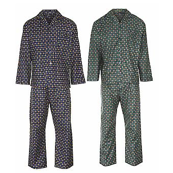 Champion Mens Diamond Wyncette Cotton Pyjama (Pack of 2)