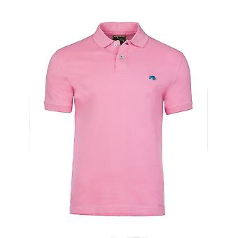 Muscle Fit Plain Polo - Pink