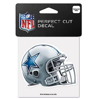 Wincraft Helm Aufkleber 10x10cm - NFL Dallas Cowboys