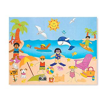 12 Day at the Beach Sticker Scenes for Kids Crafts | Childrens Craft Stickers