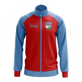 Djibouti Concept Football Track Jacket (Red) - Kids