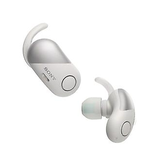 Sony WF-SP700N Truly Wireless Sports Headphones with Noise Cancelling and IPX4 Splash Proof - White