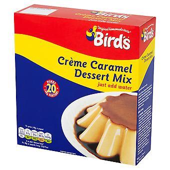 Vögel-Creme Caramel-Dessert-Mix