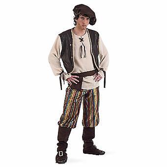 c82f980dfc486 Średniowieczne hosta Mr kostium sługa Bauer mens strój