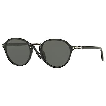 Persol 3184S Black polarized green Medium