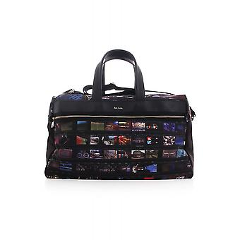 Paul Smith Accessories Mens Holdall With Printed Film Strip